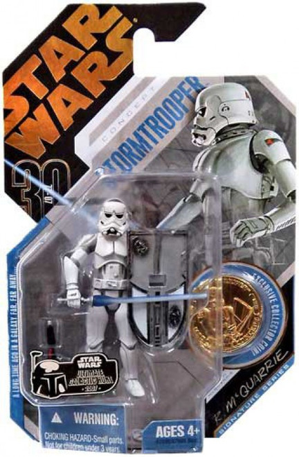 Star Wars Expanded Universe 2007 30th Anniversary Wave 1 Ultimate Galactic Hunt Stormtrooper Action Figure #9 [McQuarrie Concept]
