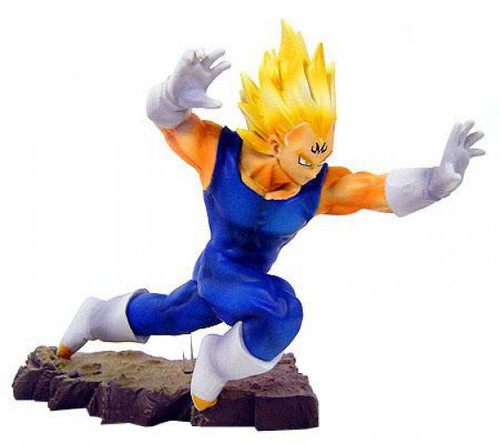 Dragon Ball Z Super Saiyan Majin Vegeta 5-Inch PVC Statue