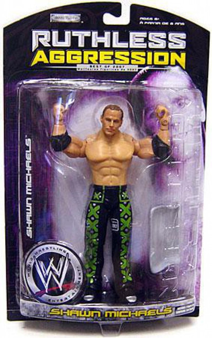WWE Wrestling Ruthless Aggression Best of 2007 Series 1 Shawn Michaels Action Figure