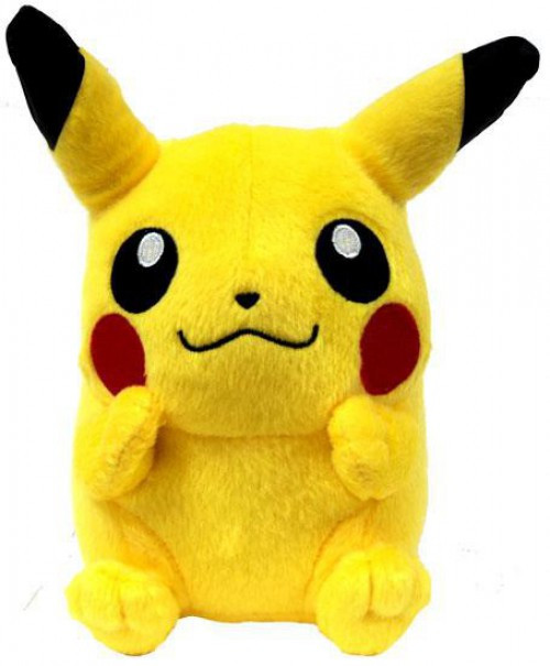 Pokemon Diamond & Pearl 5 Inch Pikachu Plush [Sitting]