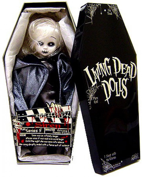Living Dead Dolls Series 5 Siren 10-Inch Doll [Black & White]
