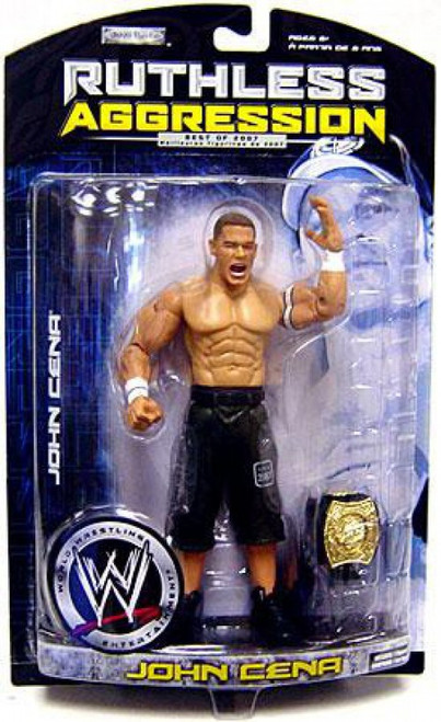 WWE Wrestling Ruthless Aggression Best of 2007 Series 1 John Cena Action Figure