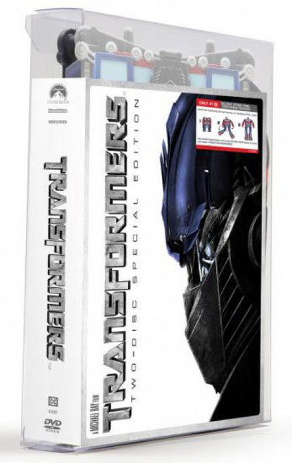 """Transformers Movie Special Edition Exclusive 15-Inch 15"""" DVD"""