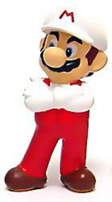New Super Mario Bros Wii Mario PVC Figure [Fire]