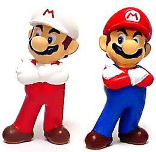 New Super Mario Bros Wii Mario PVC Figure Set