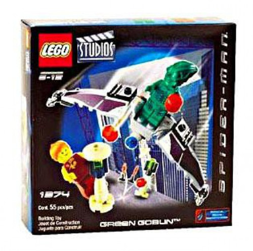 LEGO Spider-Man Studios Green Goblin Set #1374
