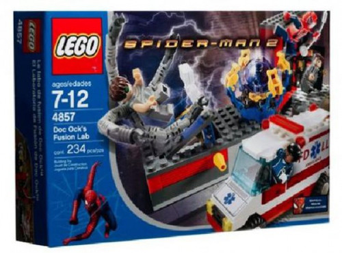 LEGO Spider-Man 2 Doc Ock's Fusion Lab Set #4857
