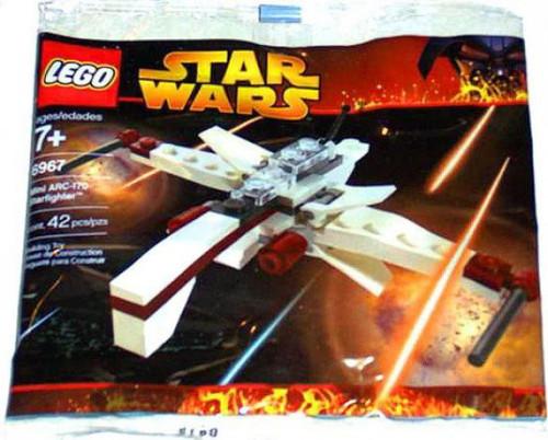 LEGO Star Wars The Clone Wars ARC-170 Starfighter Mini Set #6967 [Bagged]