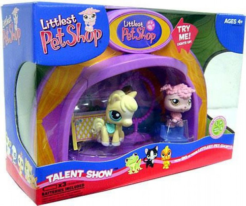 Littlest Pet Shop Talent Show Exclusive Playset