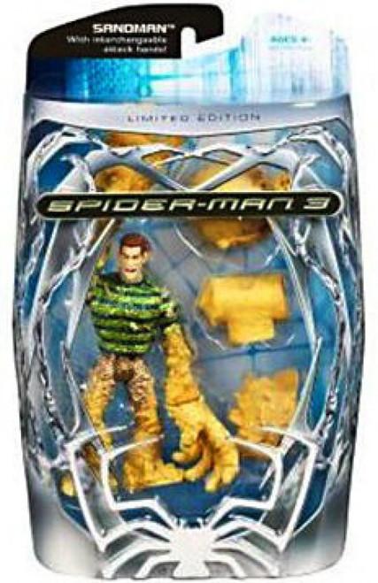 Spider-Man 3 Battle Attack Sandman Exclusive Action Figure [Metallic]