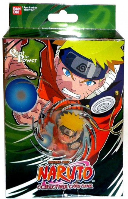 Card Game Quest for Power Naruto Theme Deck [Green]