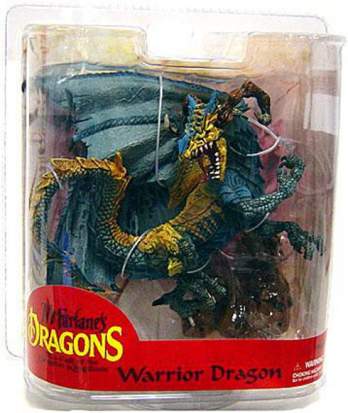 McFarlane Toys Dragons Series 7 Warrior Dragon Clan Exclusive Action Figure [Exclusive Paint Variant]