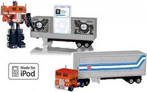 Transformers Japanese Music Label G1 Optimus Prime iPod Docking Bay