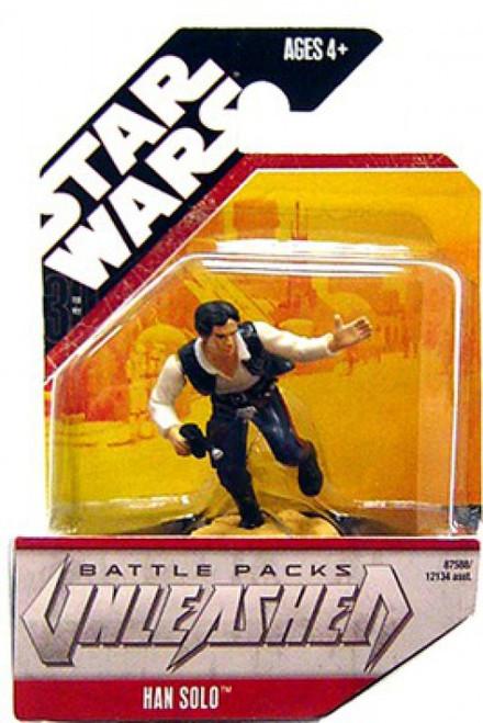 Star Wars Unleashed Battle Packs 2007 Han Solo Action Figure