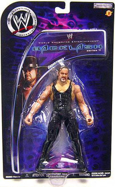 WWE Wrestling Backlash Series 11 Undertaker Action Figure