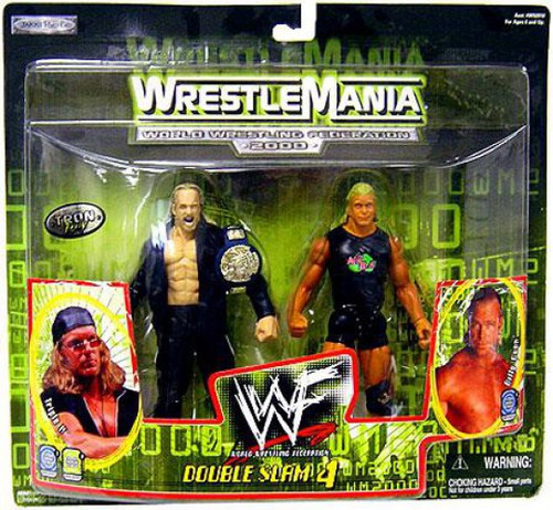 WWE Wrestling WrestleMania 20 Double Slam 4 Triple H & Billy Gunn Action Figure 2-Pack