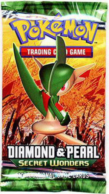 Pokemon Trading Card Game Diamond & Pearl Secret Wonders Booster Pack [10 Cards]