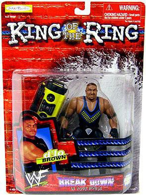 WWE Wrestling WWF King of the Ring Breakdown in Your House D'lo Brown Action Figure