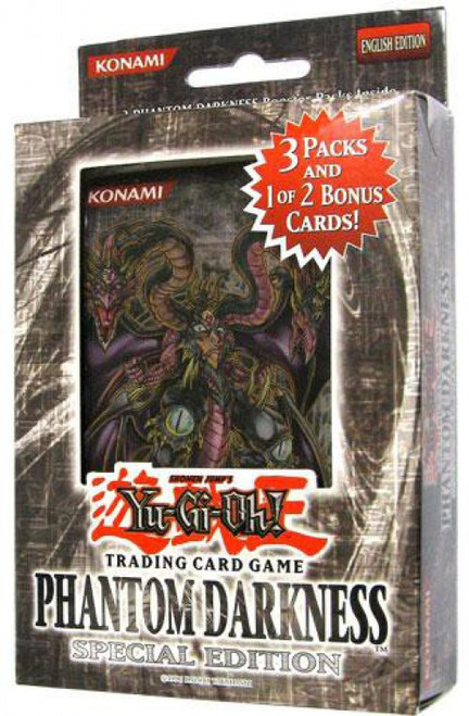 YuGiOh Trading Card Game Phantom Darkness Special Edition [3 Booster Packs & 1 RANDOM Promo Card]
