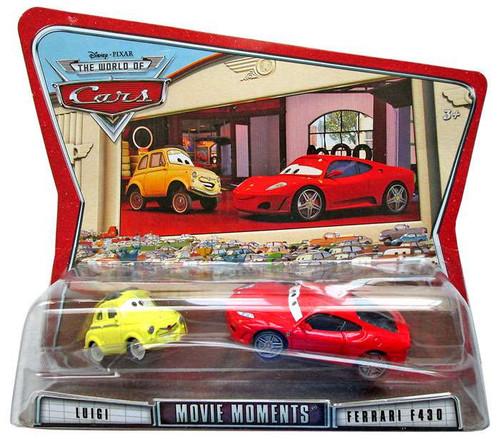 Disney / Pixar Cars The World of Cars Movie Moments Luigi & Ferrari F430 Diecast Car 2-Pack