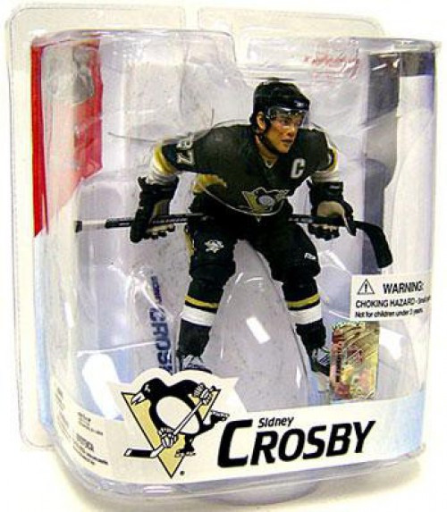 McFarlane Toys NHL Pittsburgh Penguins Sports Picks Series 16 Sidney Crosby Action Figure [Black Jersey Variant]