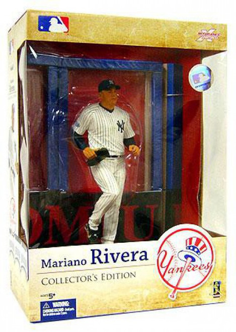 McFarlane Toys MLB New York Yankees Sports Picks Collector's Edition Mariano Rivera Action Figure
