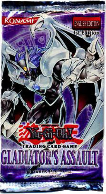 YuGiOh Trading Card Game Gladiator's Assault Booster Pack