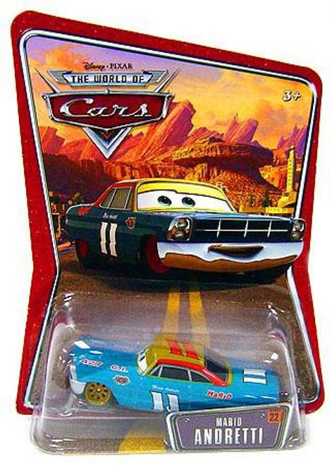 Disney / Pixar Cars The World of Cars Series 1 Mario Andretti Diecast Car #22