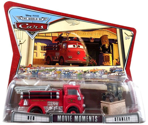 Disney / Pixar Cars The World of Cars Movie Moments Red & Stanley Diecast Car 2-Pack