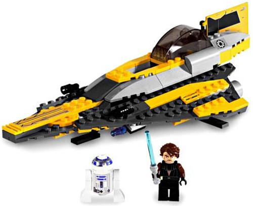 LEGO Star Wars Revenge of the Sith Anakin's Jedi Starfighter Set #7669