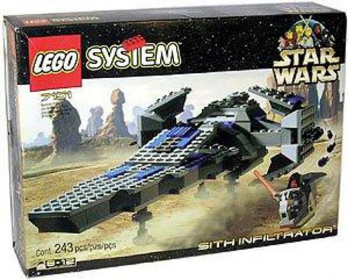 LEGO Star Wars Phantom Menace Sith Infiltrator Set #7151