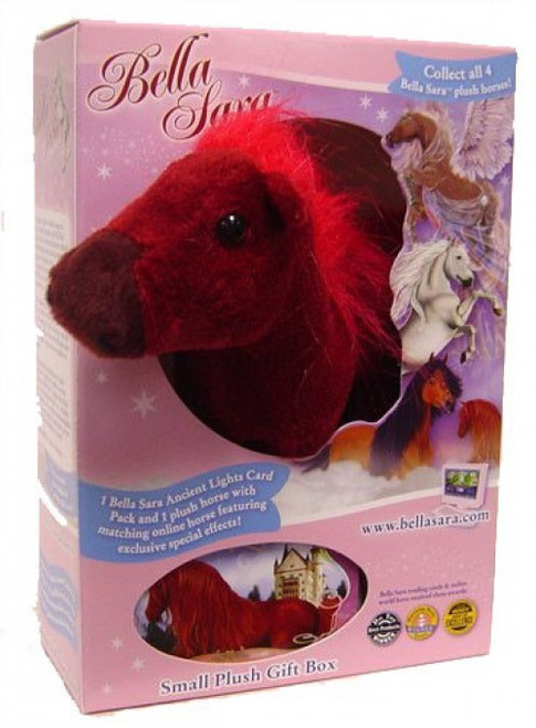 Bella Sara Fiona 5-Inch Plush Figure [Red Horse]