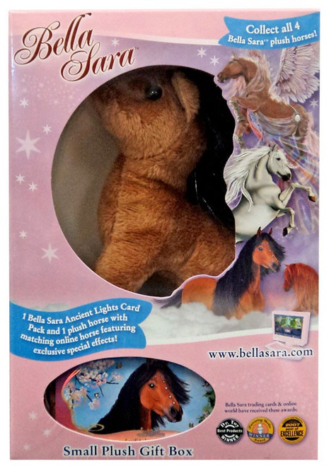 Bella Sara Jewel 5-Inch Plush Figure [Light Brown Horse]