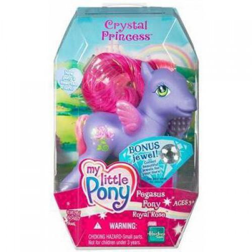 My Little Pony Crystal Princess Pegasus Royal Rose Figure