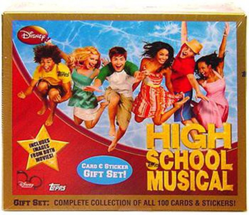 Disney High School Musical Card & Sticker Gift Set