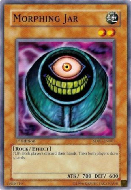 YuGiOh GX Trading Card Game Structure Deck: Rise of the Dragon Lords Common Morphing Jar SDRL-EN007