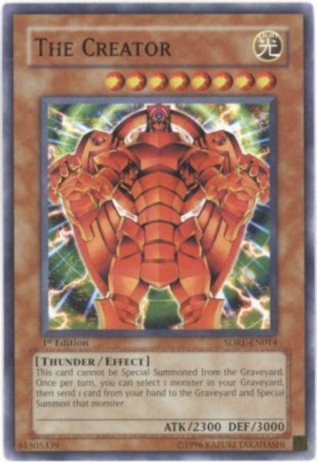 YuGiOh GX Trading Card Game Structure Deck: Rise of the Dragon Lords Common The Creator SDRL-EN014