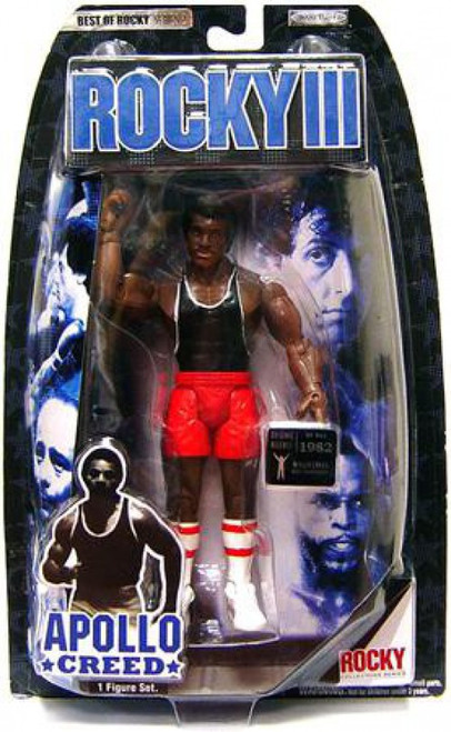 Rocky III Best of Rocky Series 2 Apollo Creed Action Figure