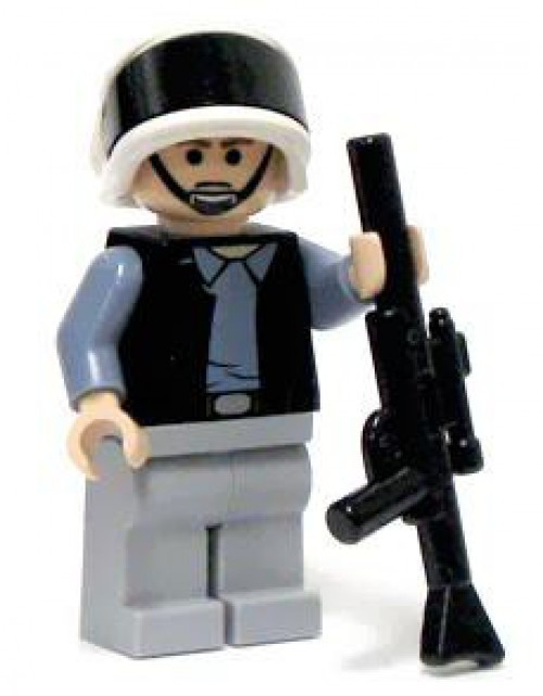 LEGO Star Wars Rebel Trooper Minifigure [Frowning Loose]