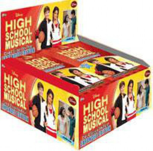 Disney High School Musical 2 Expanded Edition Trading Card Sticker Box