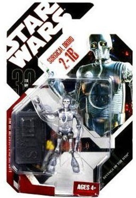 Star Wars The Empire Strikes Back 30th Anniversary 2008 Wave 1 Surgical Droid 2-1B Action Figure #6