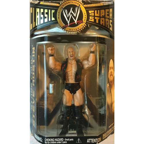 WWE Wrestling Classic Superstars Series 18 Stone Cold Steve Austin Action Figure