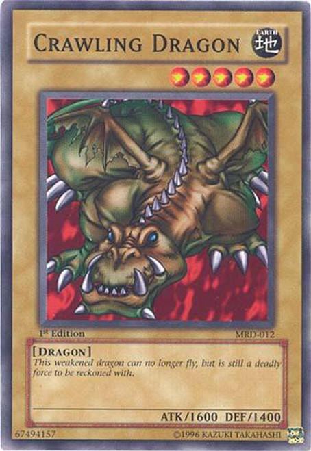 YuGiOh Metal Raiders Common Crawling Dragon MRD-012