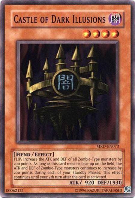 YuGiOh Metal Raiders Common Castle of Dark Illusions MRD-073