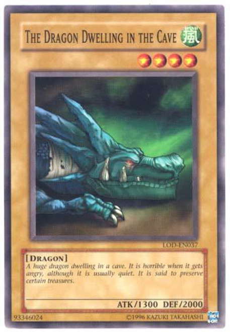 YuGiOh Legacy of Darkness Common The Dragon Dwelling in the Cave LOD-037