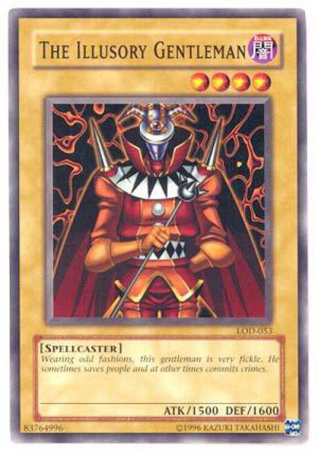 YuGiOh Legacy of Darkness Common The Illusory Gentleman LOD-053