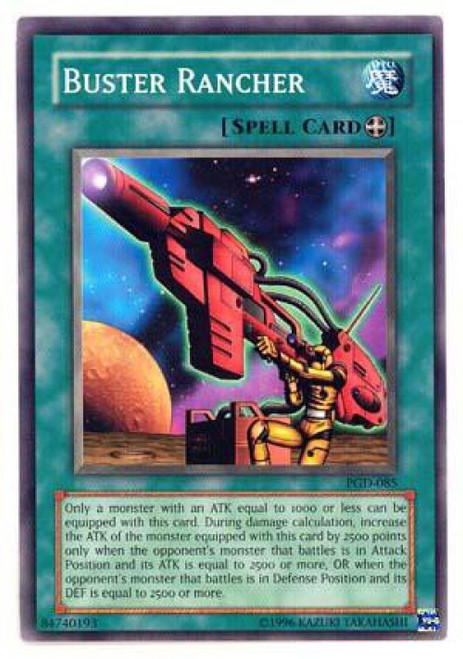 YuGiOh Pharaonic Guardian Common Buster Rancher PGD-085