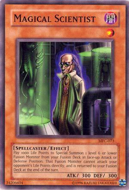 YuGiOh Magician's Force Common Magical Scientist MFC-073