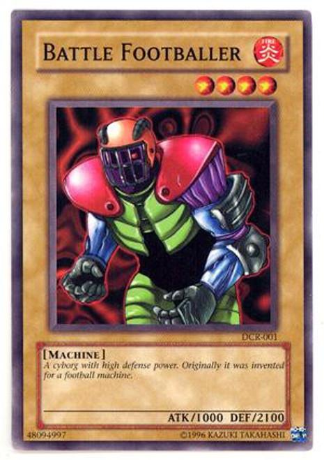YuGiOh Dark Crisis Common Battle Footballer DCR-001