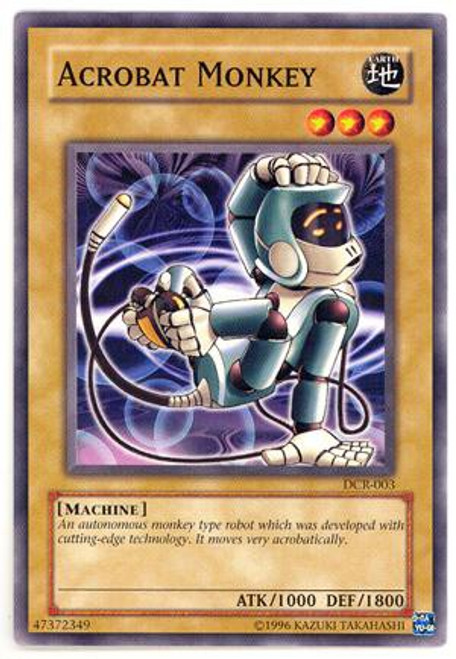 YuGiOh Dark Crisis Common Acrobat Monkey DCR-003